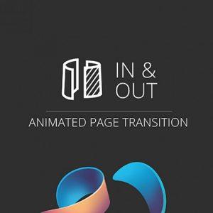 виджет перехода с эффектами между страницами для Adobe Muse
