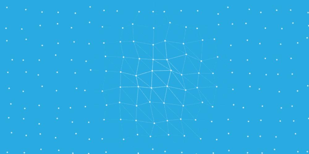 нейронная сеть эффект для Adobe Muse в виде виджета