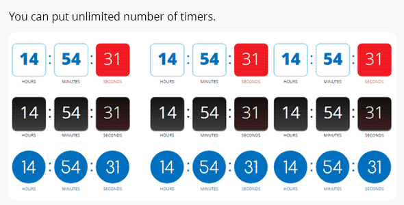 Easy Countdown Timer for Adobe Muse - 2